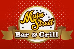Main Street Bar & Grill Sign